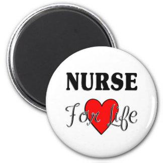 Enfermera para la vida imanes de nevera
