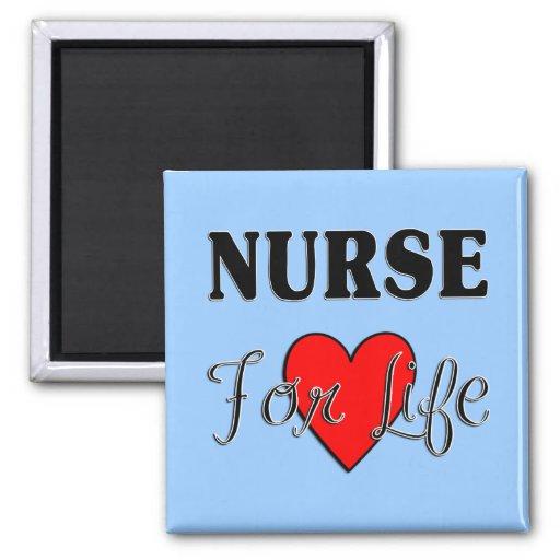 Enfermera para la vida imán