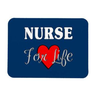 Enfermera para la vida imán flexible
