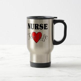 Enfermera para la vida taza de café