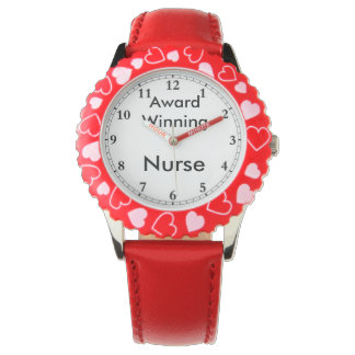 Enfermera premiada reloj