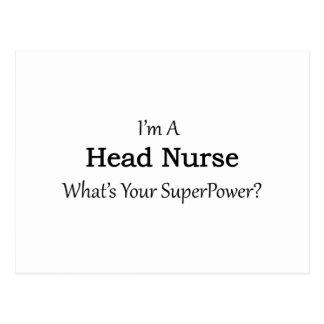Enfermera principal postal