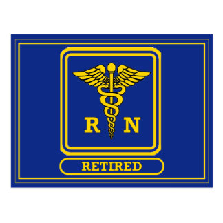 Enfermera registradoa jubilada postal