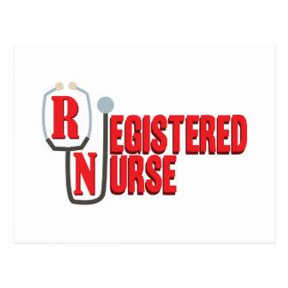 Enfermera registradoa postal