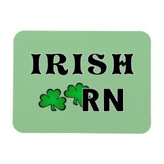 Enfermera RN del irlandés Imán Rectangular