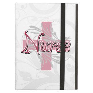 Enfermera rosada de la cruz/del remolino