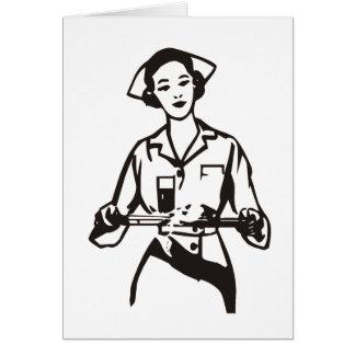 Enfermera Tarjetas
