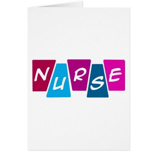 Enfermera Felicitación