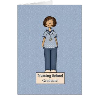 enfermera tarjeta