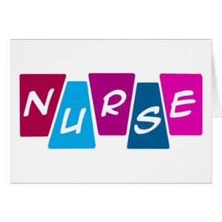Enfermera Tarjeta De Felicitación