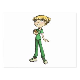 Enfermera Postales