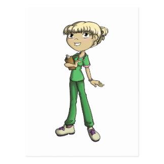 Enfermera Tarjeta Postal