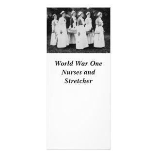 Enfermeras de la Primera Guerra Mundial con el ens Tarjeta Publicitaria A Todo Color