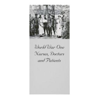 Enfermeras de la Primera Guerra Mundial Plantilla De Lona
