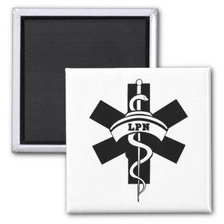 Enfermeras de LPN Imán Cuadrado