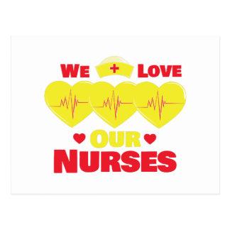 Enfermeras del amor postal
