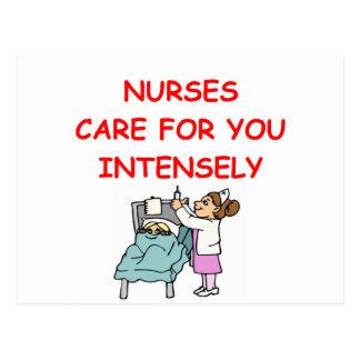 Enfermeras Tarjeta Postal