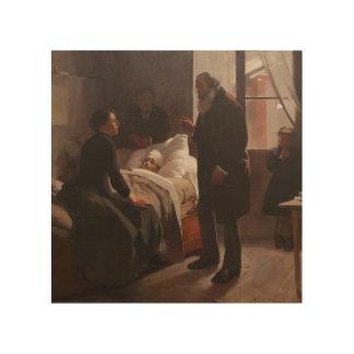 Enfermo del EL Niño de Arturo Michelena 1886 Impresiones En Madera