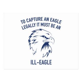 Enfermo-Eagle Tarjetas Postales