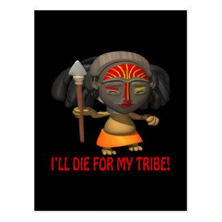 Enfermo muera por mi tribu postal