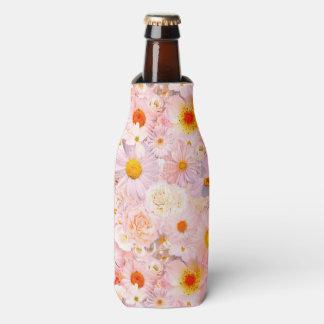 Enfriador De Botellas El rosa florece la primavera nupcial del boda