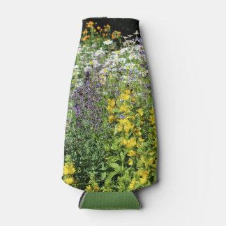 Enfriador De Botellas Jardín de flores salvaje de la última primavera
