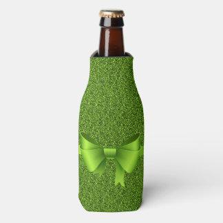 Enfriador De Botellas Purpurina y arco verdes