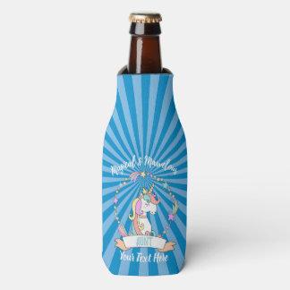 Enfriador De Botellas Tía maravillosa mágica - princesa del unicornio
