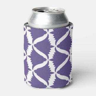 Enfriador De Latas Bellflower púrpura ultravioleta del prado de la