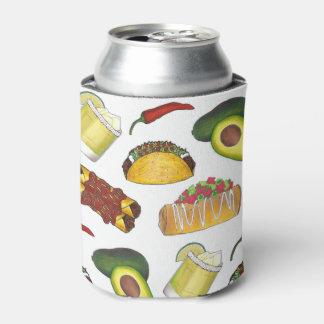Enfriador De Latas Enchilada Chimichanga del Taco de la comida de Tex