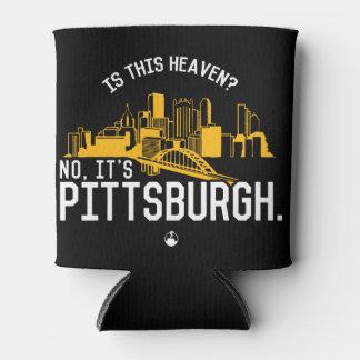 Enfriador De Latas ¿Es este cielo? No, es Pittsburgh
