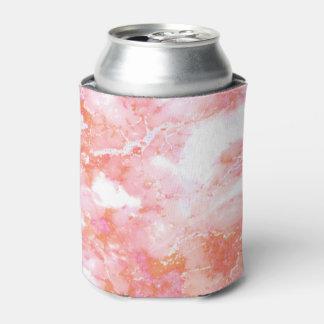 Enfriador De Latas Piedra de mármol nublada rosada del melocotón