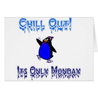 Enfríe su tarjeta de lunes
