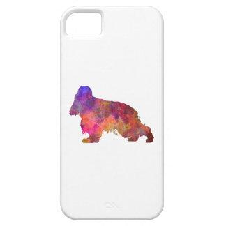 English Cocker Spaniel in watercolor Funda Para iPhone SE/5/5s