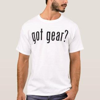 ¿engranaje conseguido? camiseta