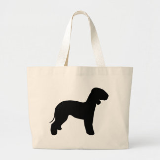 Engranaje de Bedlington Terrier Bolsa Tela Grande