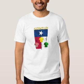 Engranaje de ciclo de la bandera de camiseta