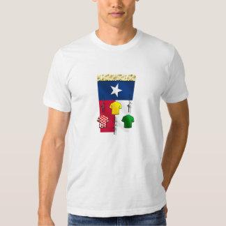 Engranaje de ciclo de la bandera de camisetas