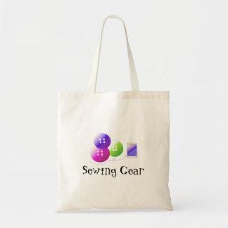 Engranaje de costura bolsa tela barata