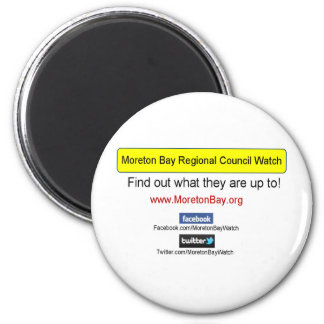 Engranaje de la bahía de Moreton Imán Redondo 5 Cm