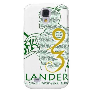 Engranaje de la reunión de los isleños 93 de JFK Samsung Galaxy S4 Cover