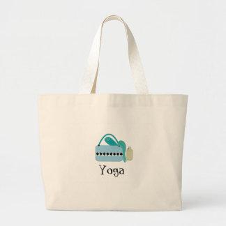 Engranaje de la yoga bolsa tela grande