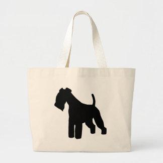 Engranaje de Lakeland Terrier Bolsa Tela Grande