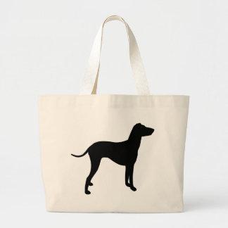 Engranaje de Manchester Terrier Bolsa Tela Grande