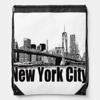 ENGRANAJE DE NEW YORK CITY POR EKLEKTIX MOCHILA