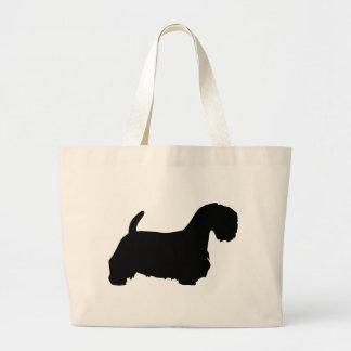 Engranaje de Sealyham Terrier Bolsa Tela Grande
