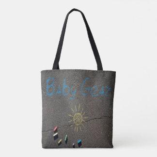 Engranaje del bebé de la playa bolsa de tela