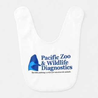 Engranaje del bebé del logotipo de PZWD Babero