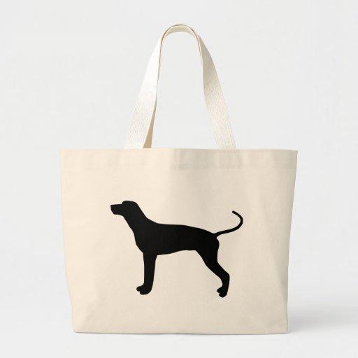 Engranaje del Coonhound de Redbone Bolsas