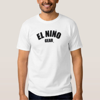 Engranaje del EL Nino Camisetas